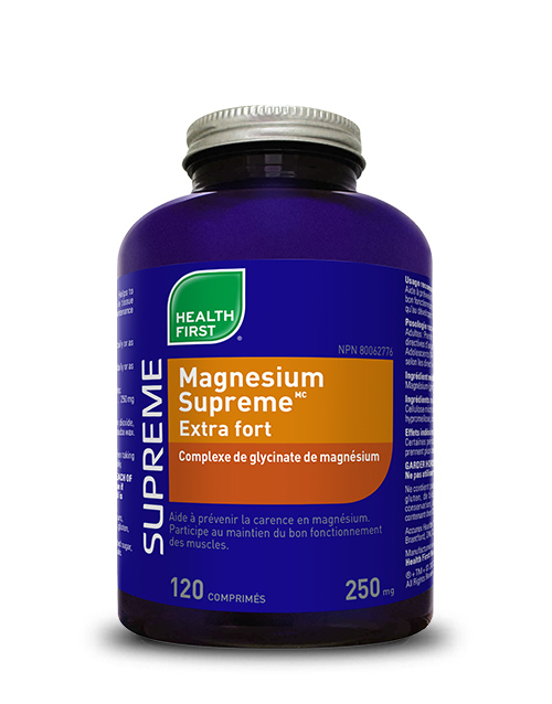 Magnesium Supreme<sup>MC</sup> Extra fort